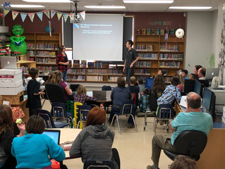 Junior High Students Present their Final Project Proposals for the Sustainable Greenhouse Project