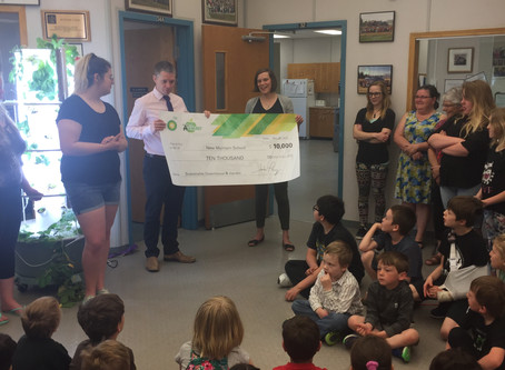 New Myrnam School Receives the BP A+ For Energy Grant for their Project, Sustainable Greenhouse &amp