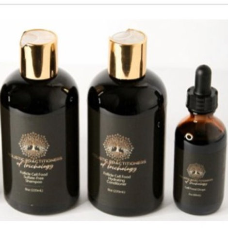 HPT Shampoo, Conditioner, and Cell Drops Bundle