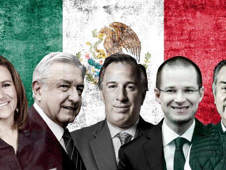 Obrador, Anaya y Meade:  Una lucha por llegar a Los Pinos