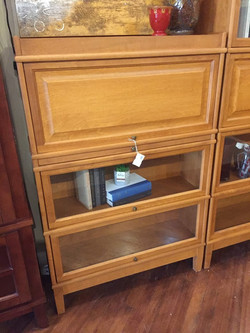 MAPLE BARRISTER BOOKCASE