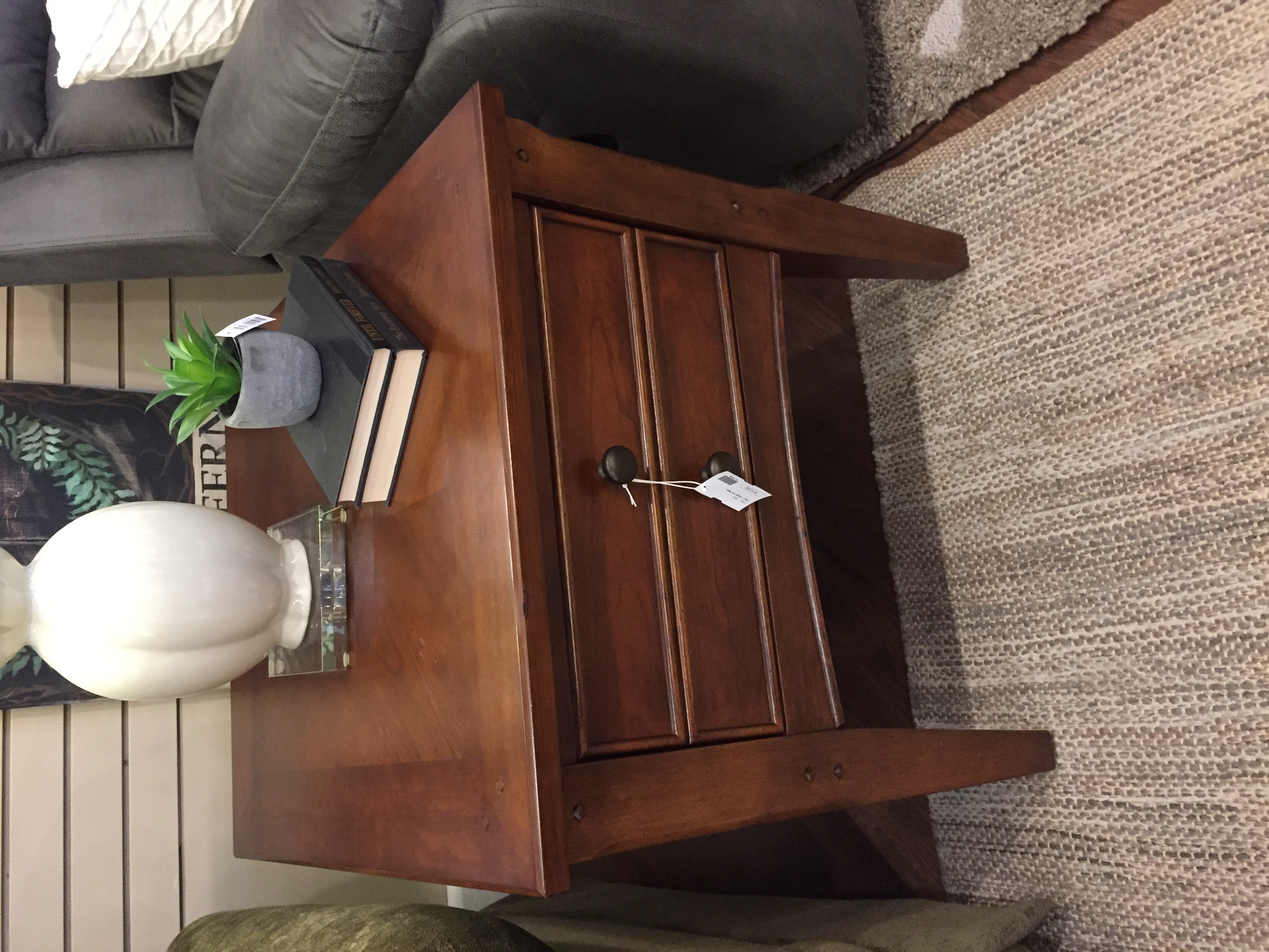 CHERRY 1 DRAWER END TABLE