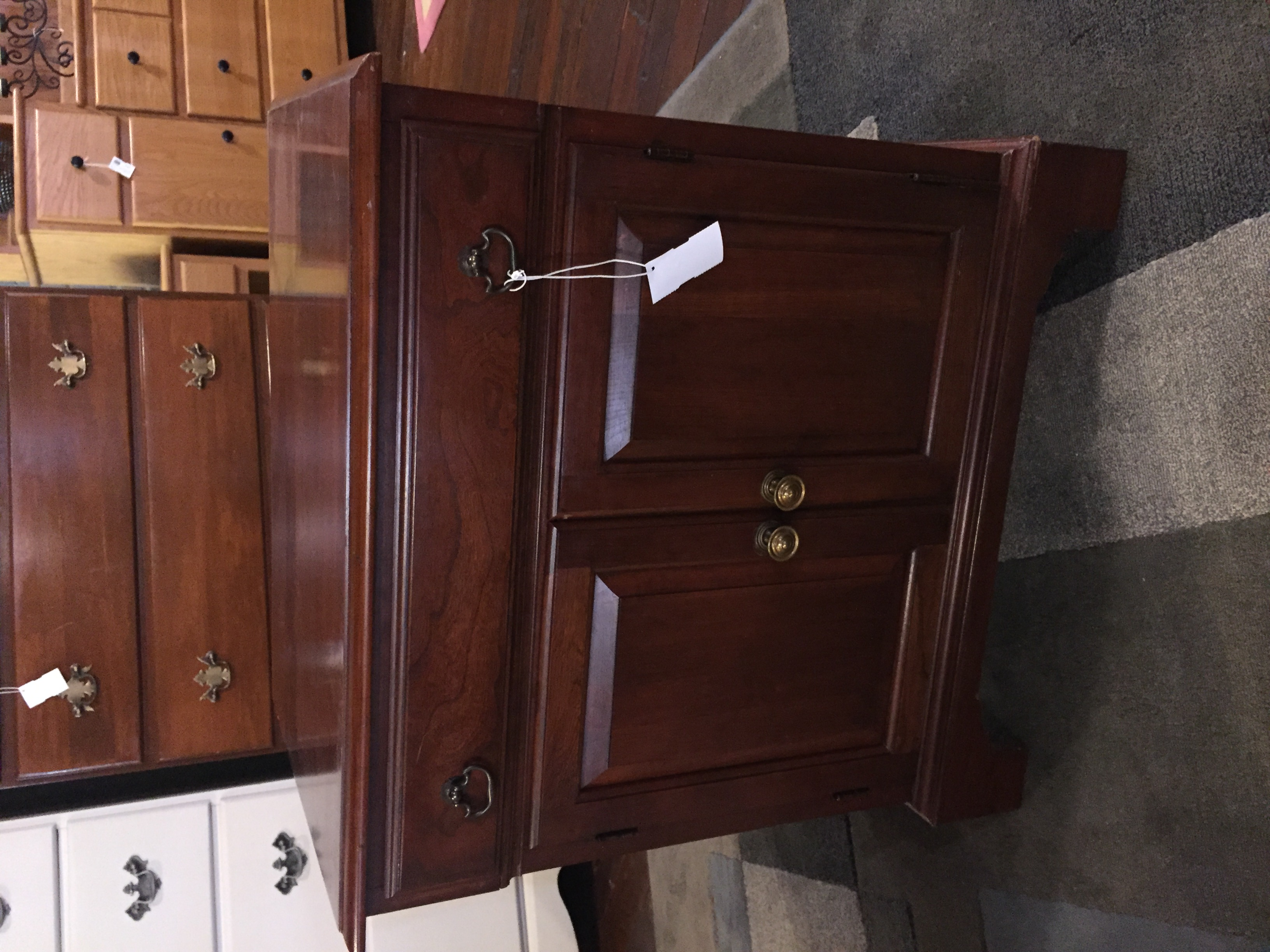 CHERRY NIGHTSTAND CABINET