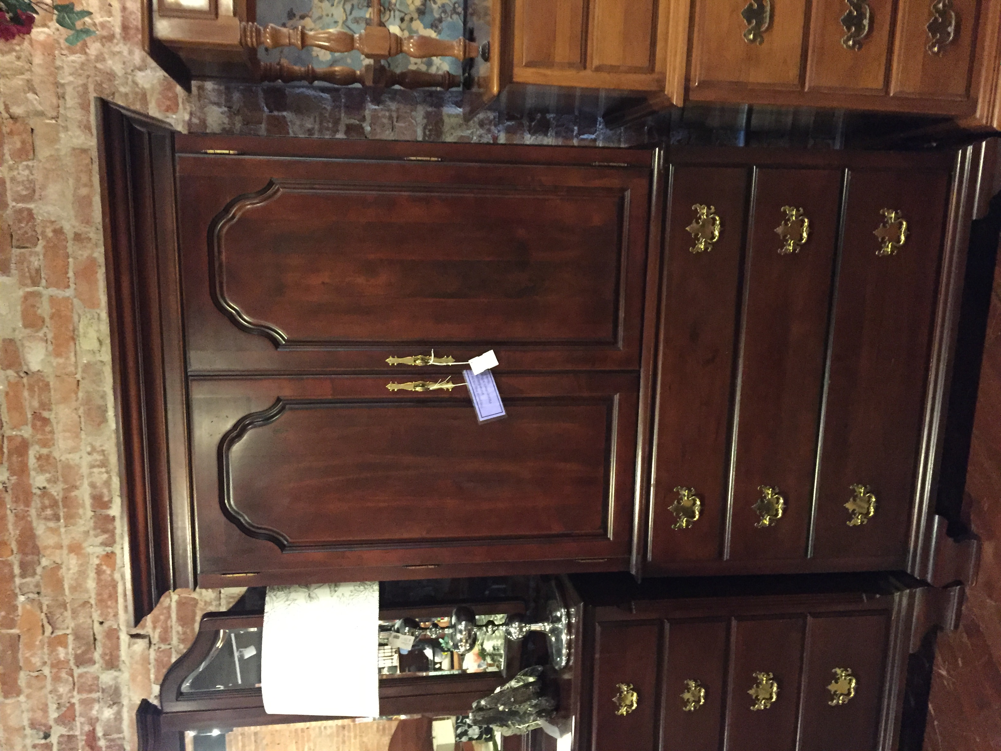 KINCAID CHERRY ARMOIRE