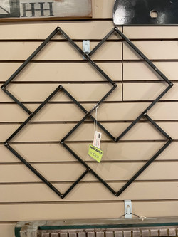 INVERTED SQUARES WALL DECOR