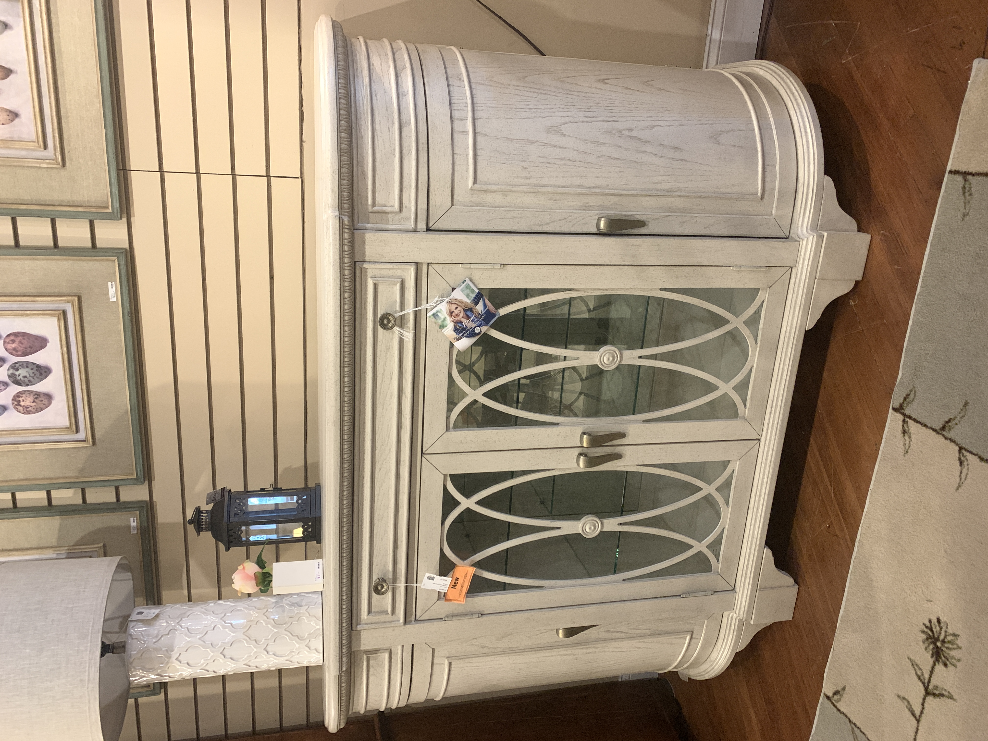 TRICIA YEARWOOD CREAM CREDENZA