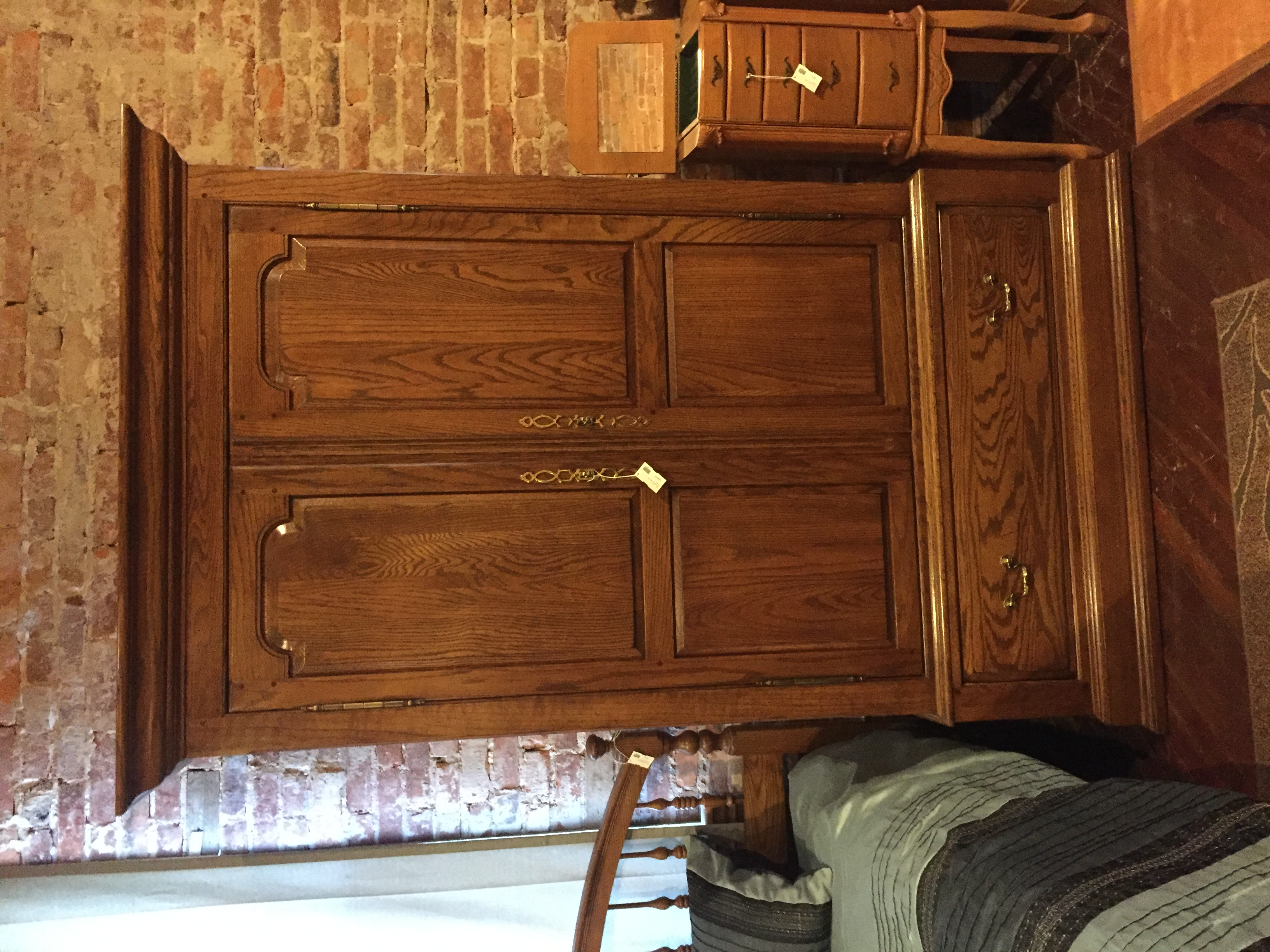 DARK OAK ARMOIRE