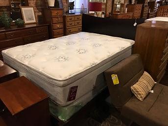 new furniture, mattress, boxspring