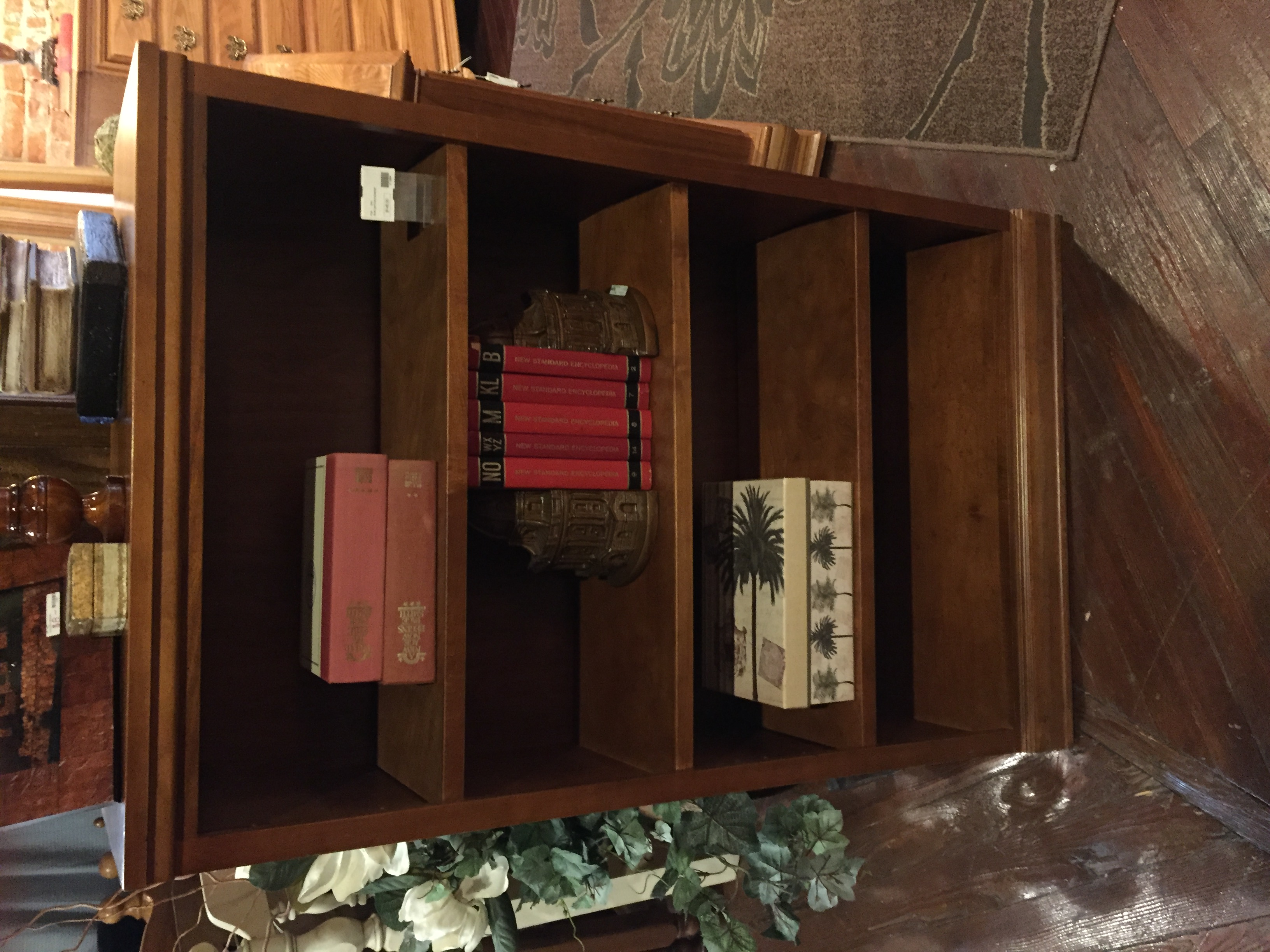 SMALL LIGHT CHERRY BOOKSHELF