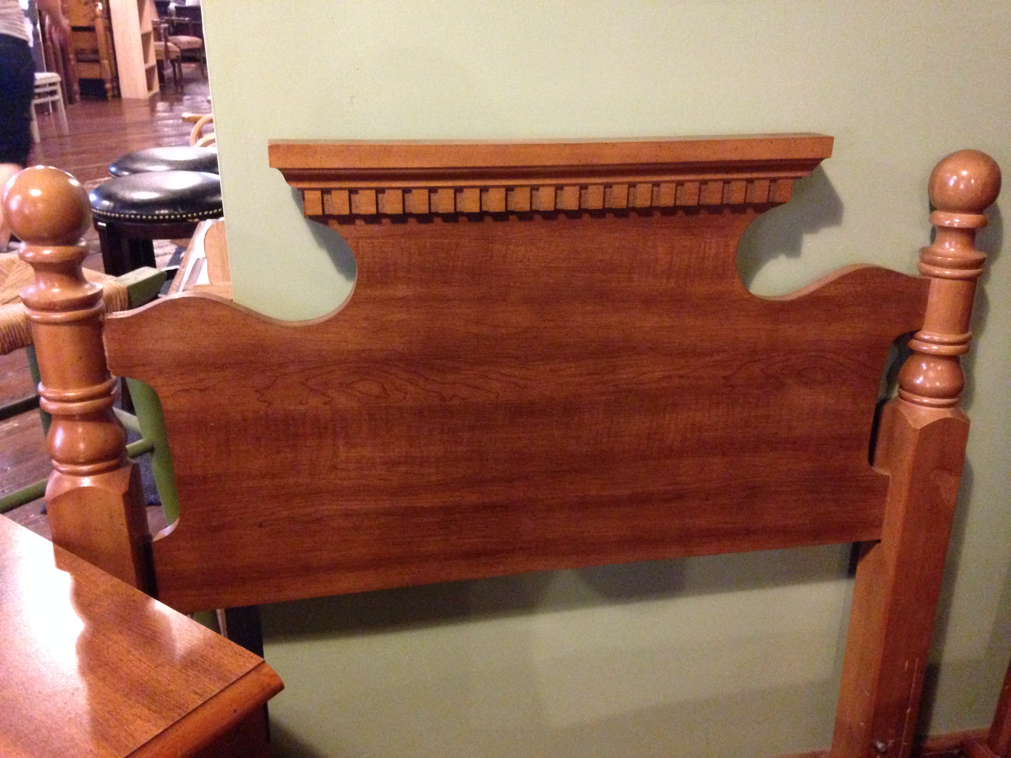 BASSETT MAPLE TWIN HEADBOARD