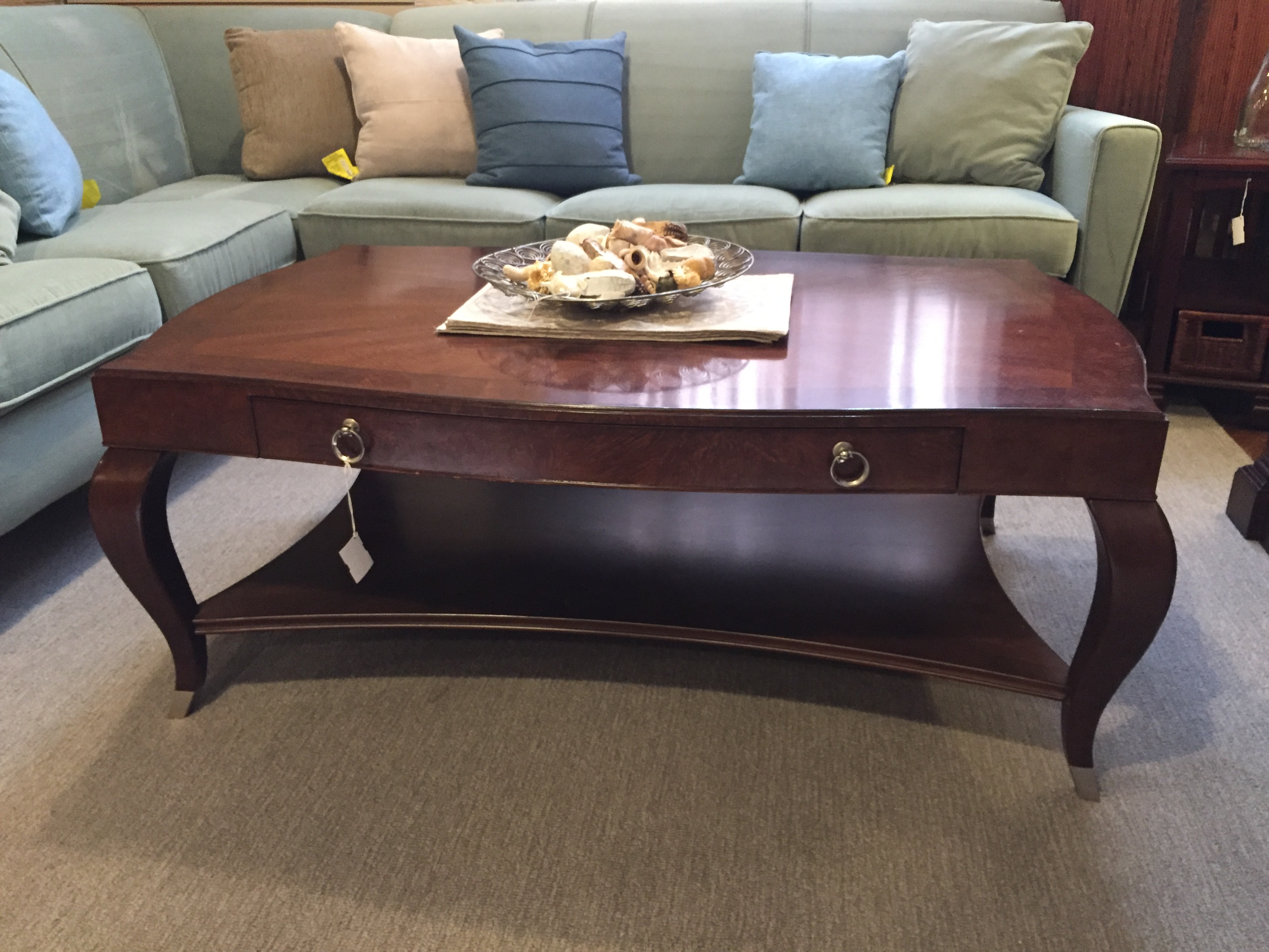 CHERRY RECTANGLE COFFEE TABLE