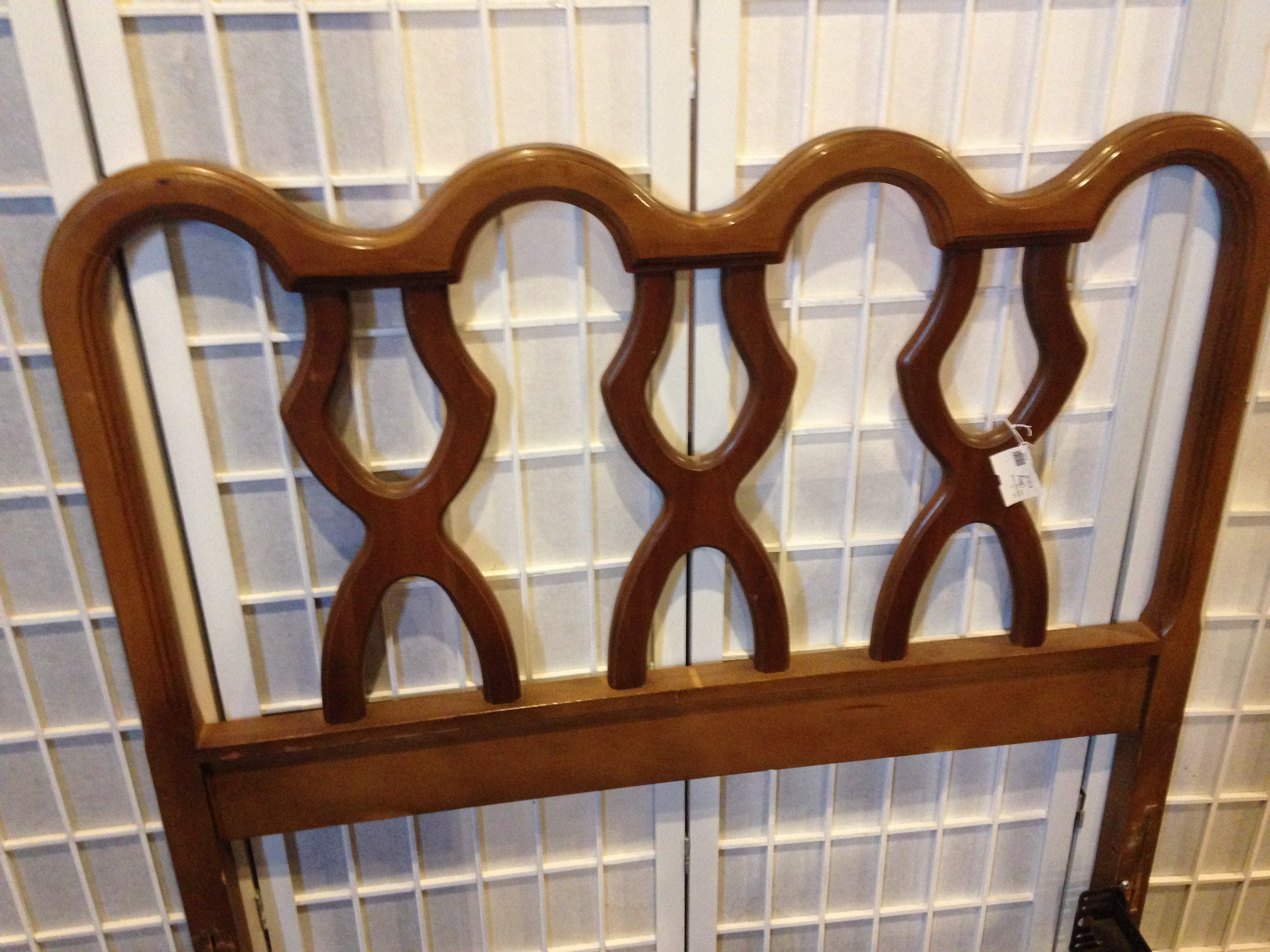 MEDITERRANEAN CHERRY TWIN HEADBOARD