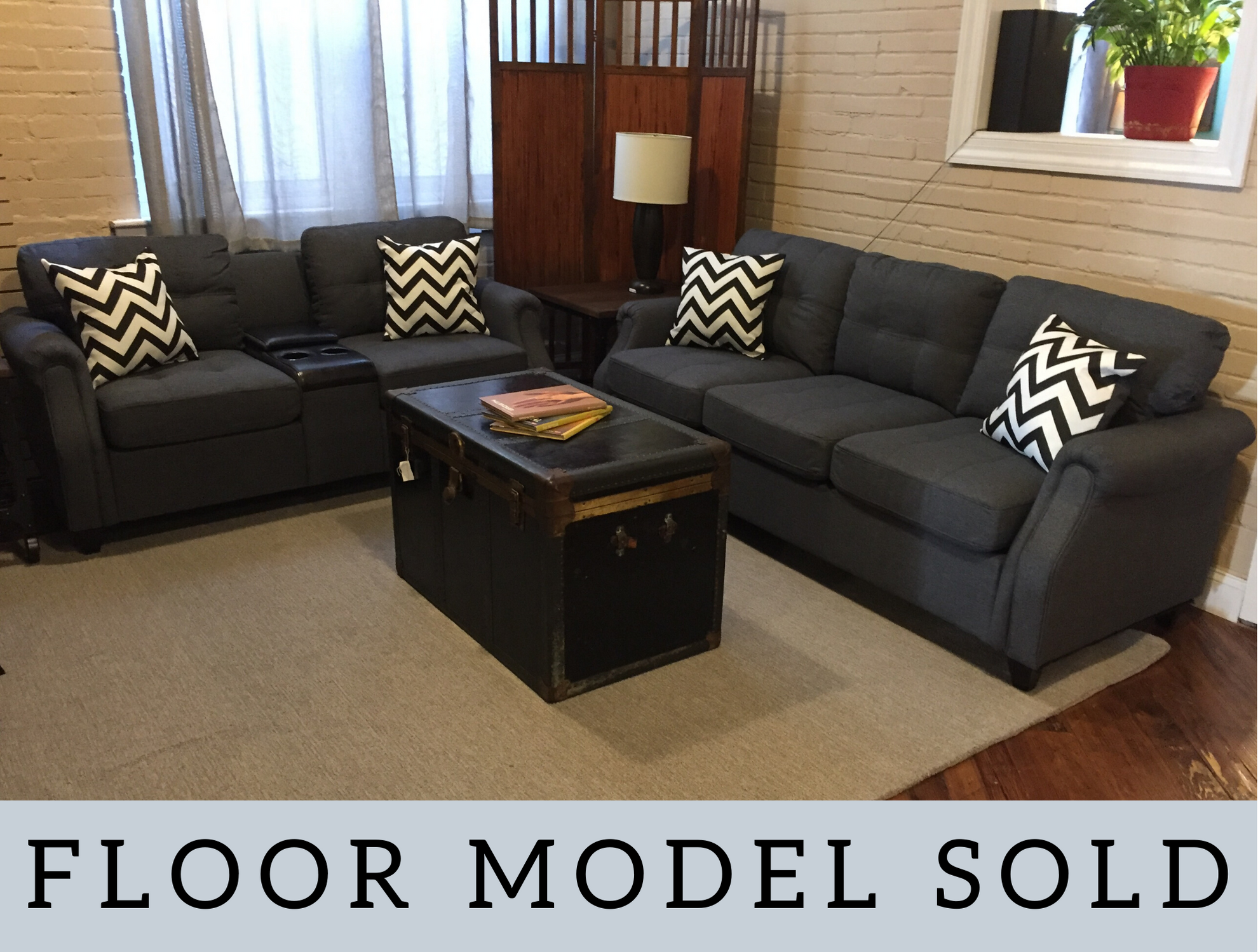 ROLLED ARM TUFTED SOFA AND LOVESEAT