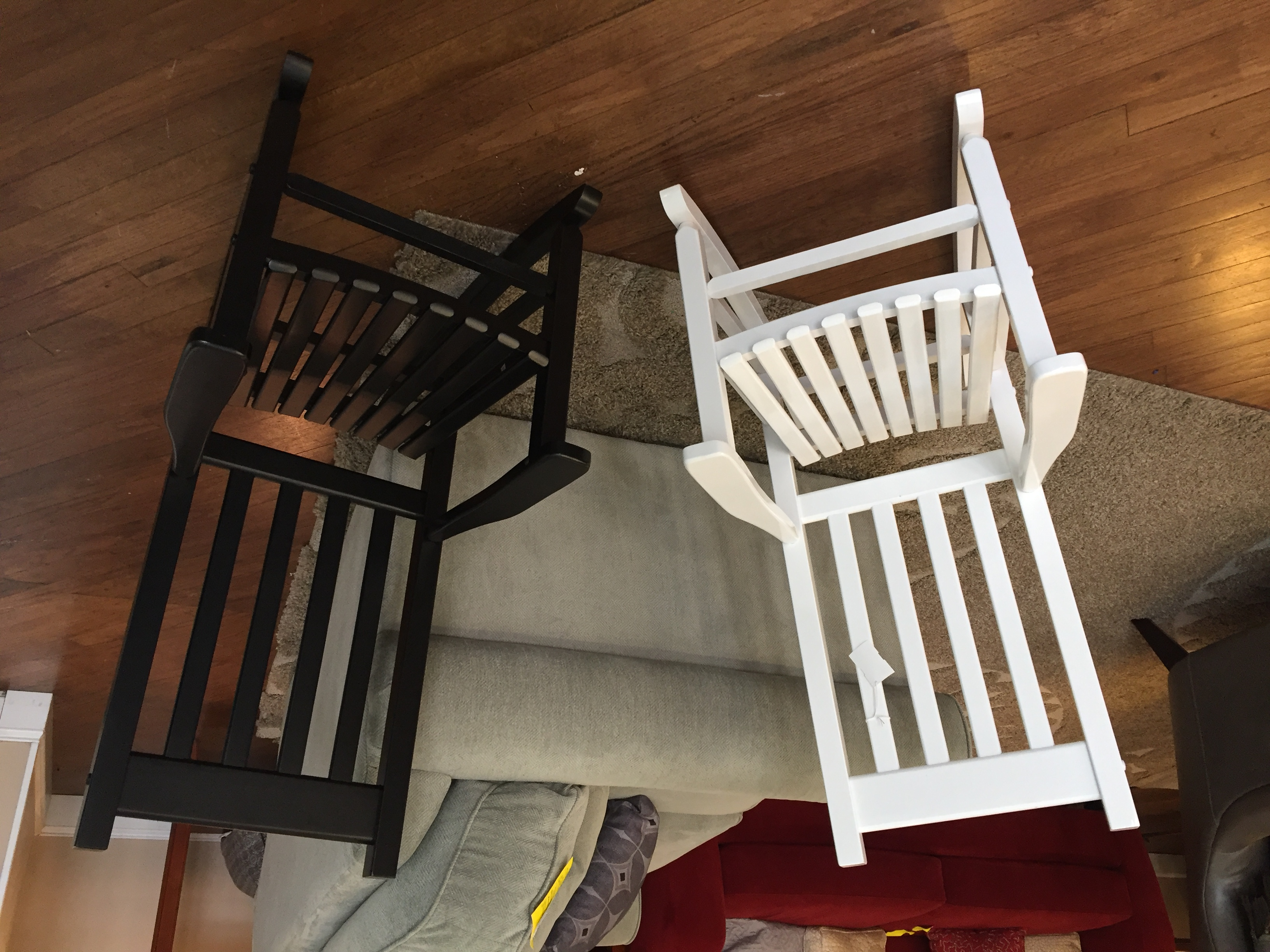 CHILD'S PORCH ROCKING CHAIR