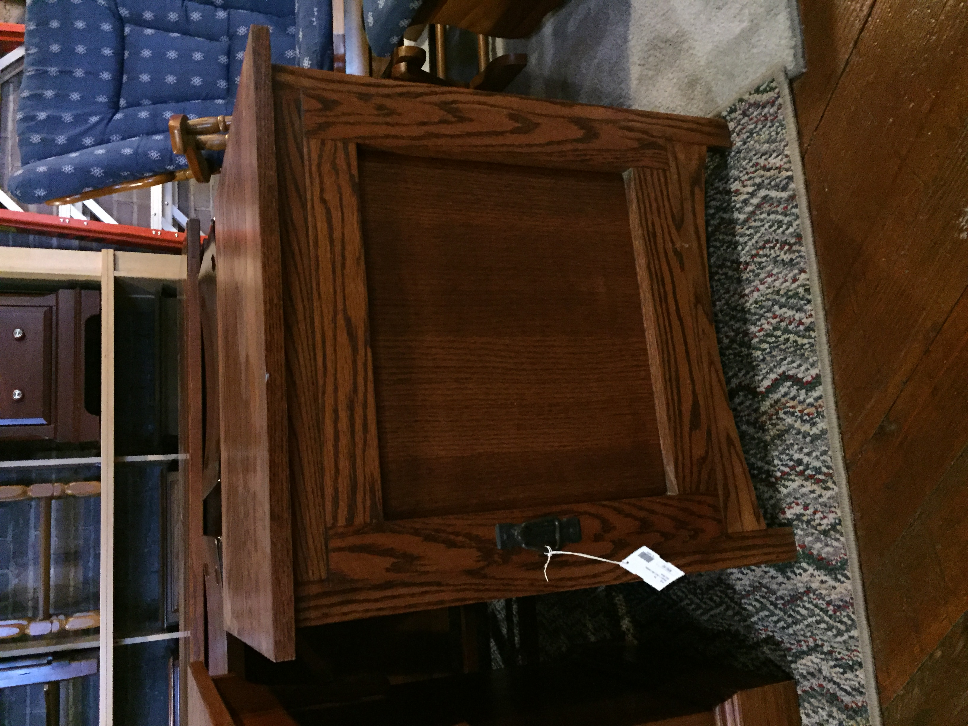 MISSION 1 DOOR CABINET/END TABLE