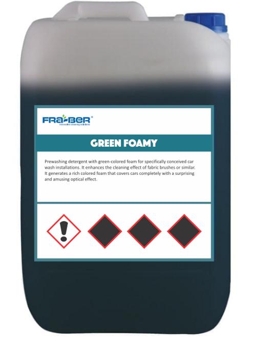 Green Foamy