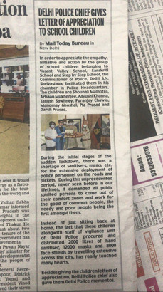 Mail Today coverage