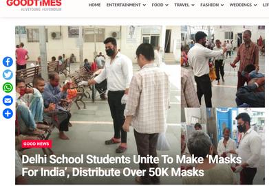 NDTV Goodtimes Article