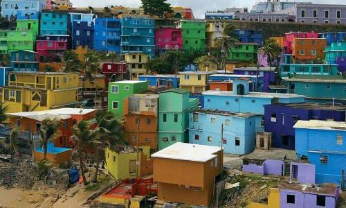 La Perla after getting its new vivid colors.