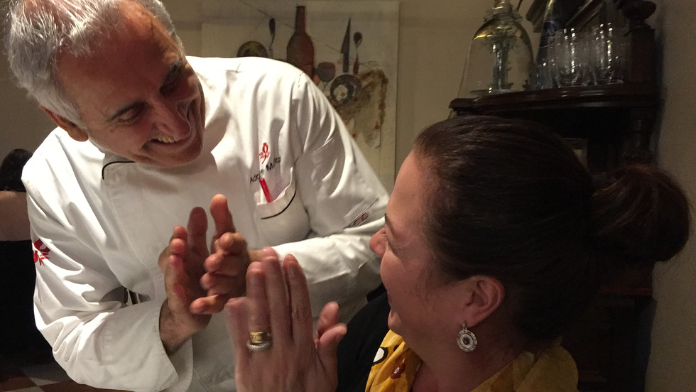 A Piece of Heaven in Toledo with Chef Adolfo