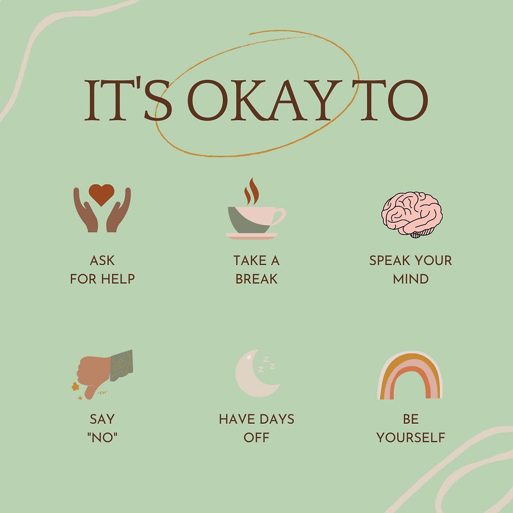 """Its Okay To"" Illustration by Christsean Sams."