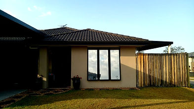 Tinted House Windows with Mirro Tints