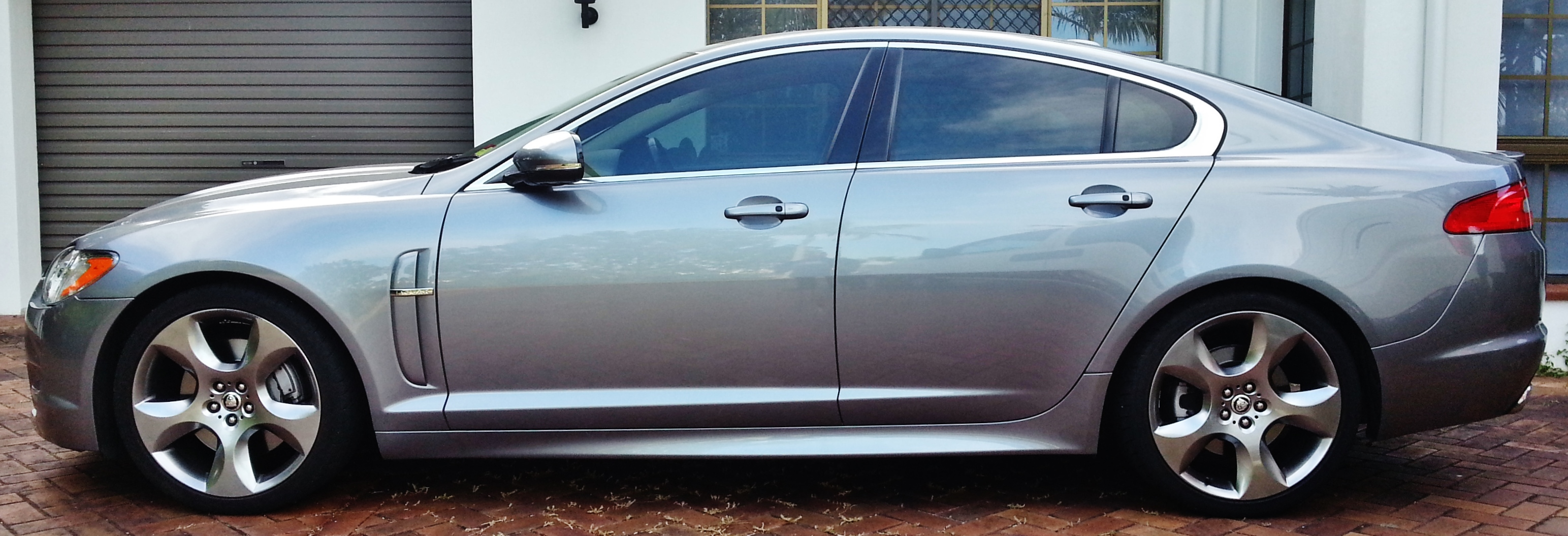 ceramic tints on JAGUAR