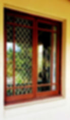 Wooden / Timber Window Tint