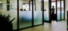 Frost Tint Partition Window