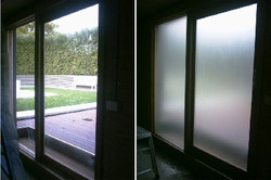 White Frosted Glass Tint