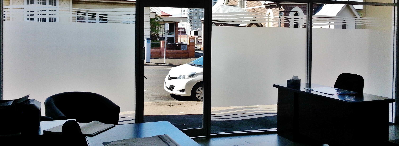 Custom White Frost + Privacy