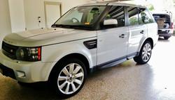 brisbane mobile tinting Range Rover