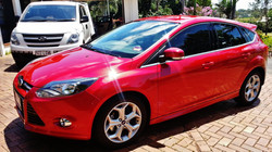 window tints on Ford Focus