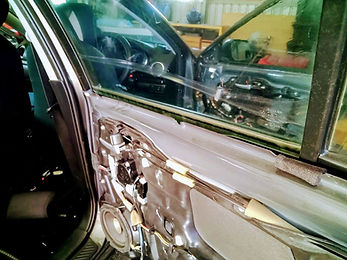 Car Tint that has peeled