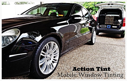 Mobile car tinting Brisbane - Action Tint