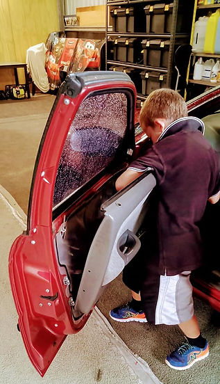 Car Door Trim Removal - Action Tint