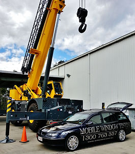 Mobile Window Tinting - Heavy Machinery
