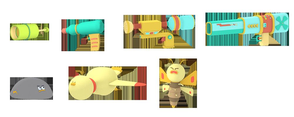 3d武器怪獸