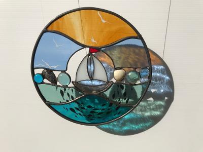 Circular Boat Panel