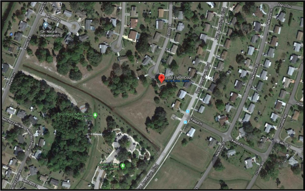 3580 Elyton Aerial Map