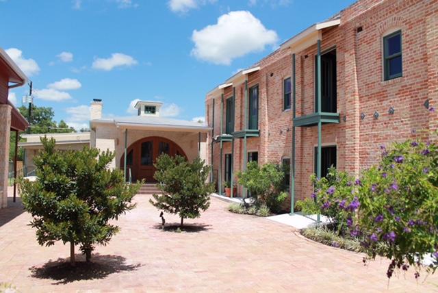 Mustang Cantina Courtyard