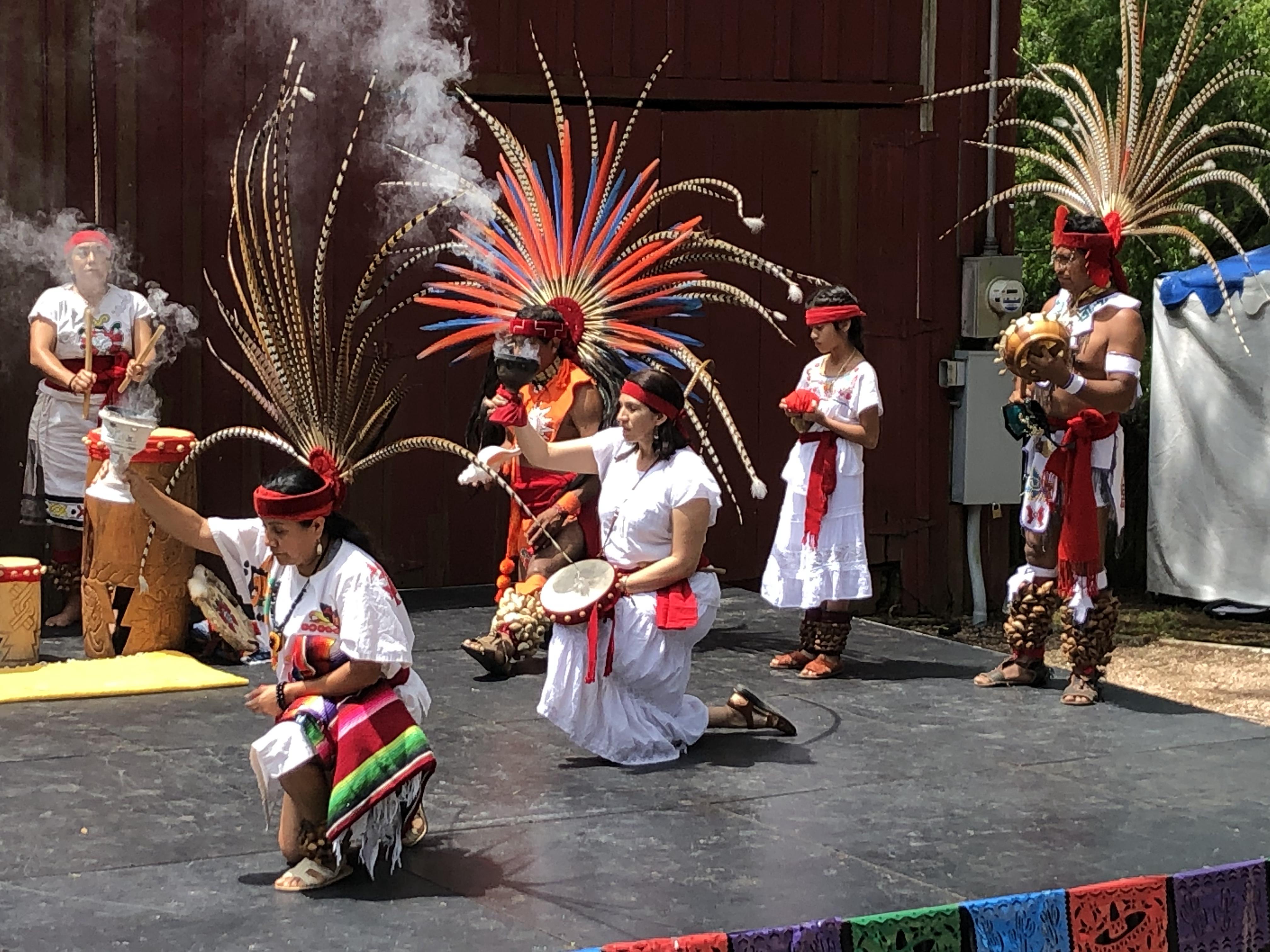 Aztec Dancers SARA Branch Park
