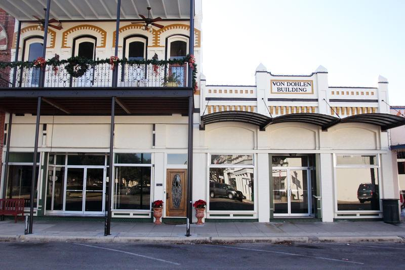 Downtown Goliad Buildings
