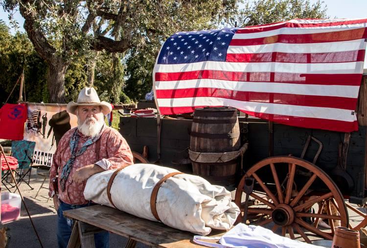 Mr. Dohmann Chuck Wagon Display