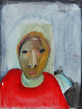 Lee du Ploy, Untitled, 2018, Mixed media on canvas, 30x40cm