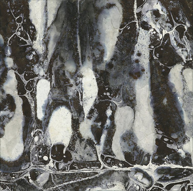 Ling Pui Sze, Constructing, 2013, Mixed media on canvas, 30x30cm