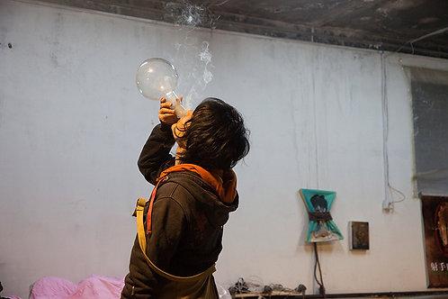 Stefanie Schweiger, Tong Kunniao Testing, Beijing, 2015