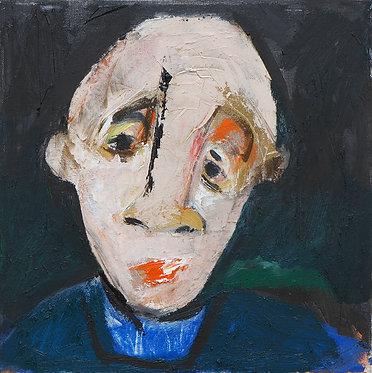 Lee du Ploy, Untitled, 2019, Mixed media on canvas, 30x30cm