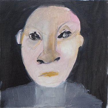 Lee du Ploy, Untitled, 2019, Mixed media on canvas, 30x30cm