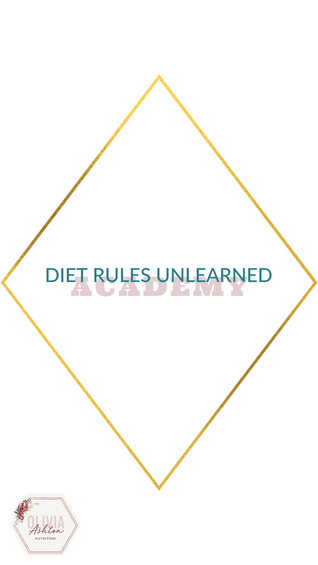 Diet Rules Unlearned Academy